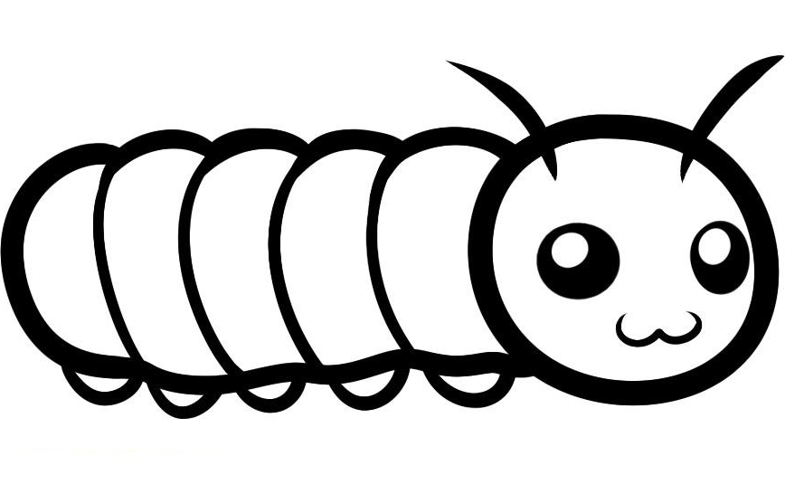 coloring pictures caterpillar,printable,coloring pages