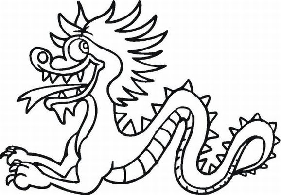 chinese-dragon coloring pages 13,printable,coloring pages