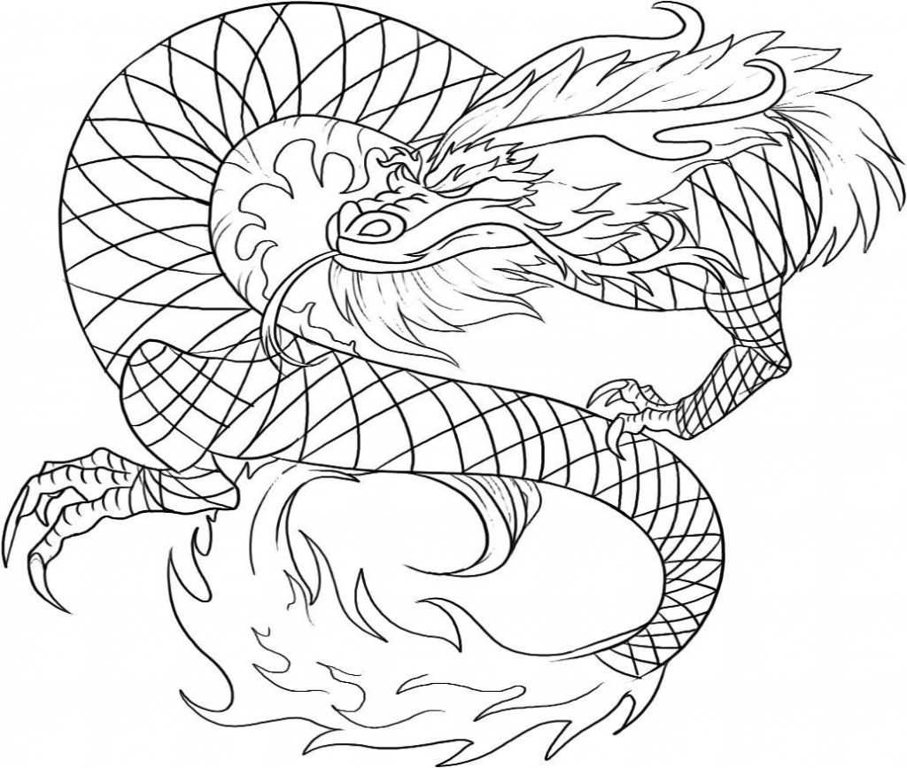 Printable coloring pages of dragons - Chinese Dragon Coloring Pages Printable Printable Coloring Pages