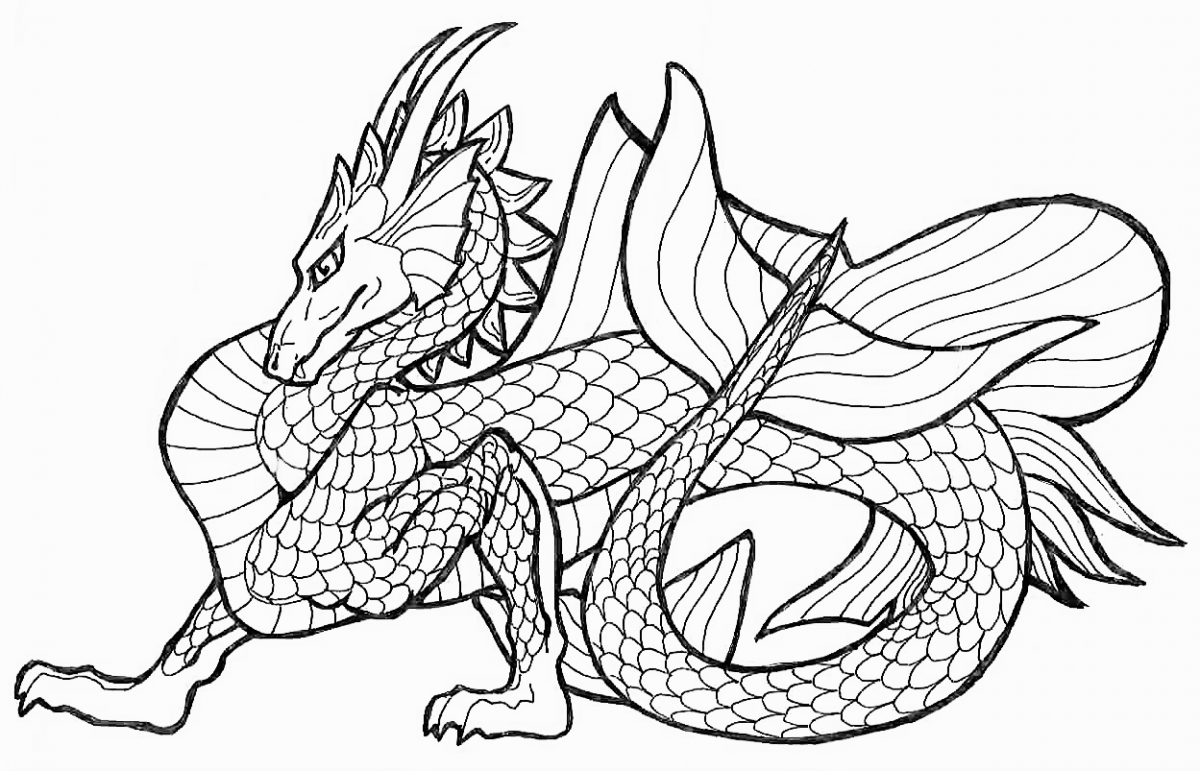 kids coloring pages chinese-dragon,printable,coloring pages