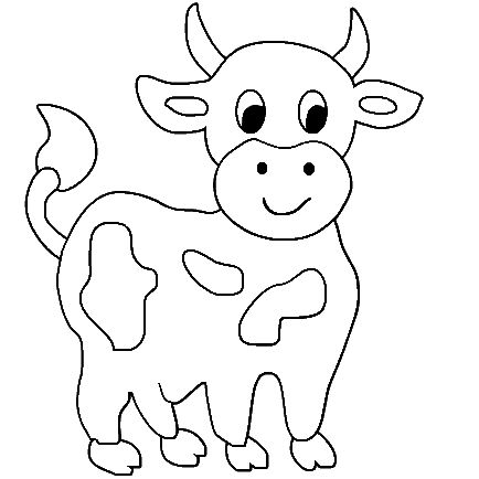 cow coloring pages inspire kids baby cow coloring printable cow