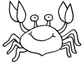printable pictures of crab page,printable,coloring pages
