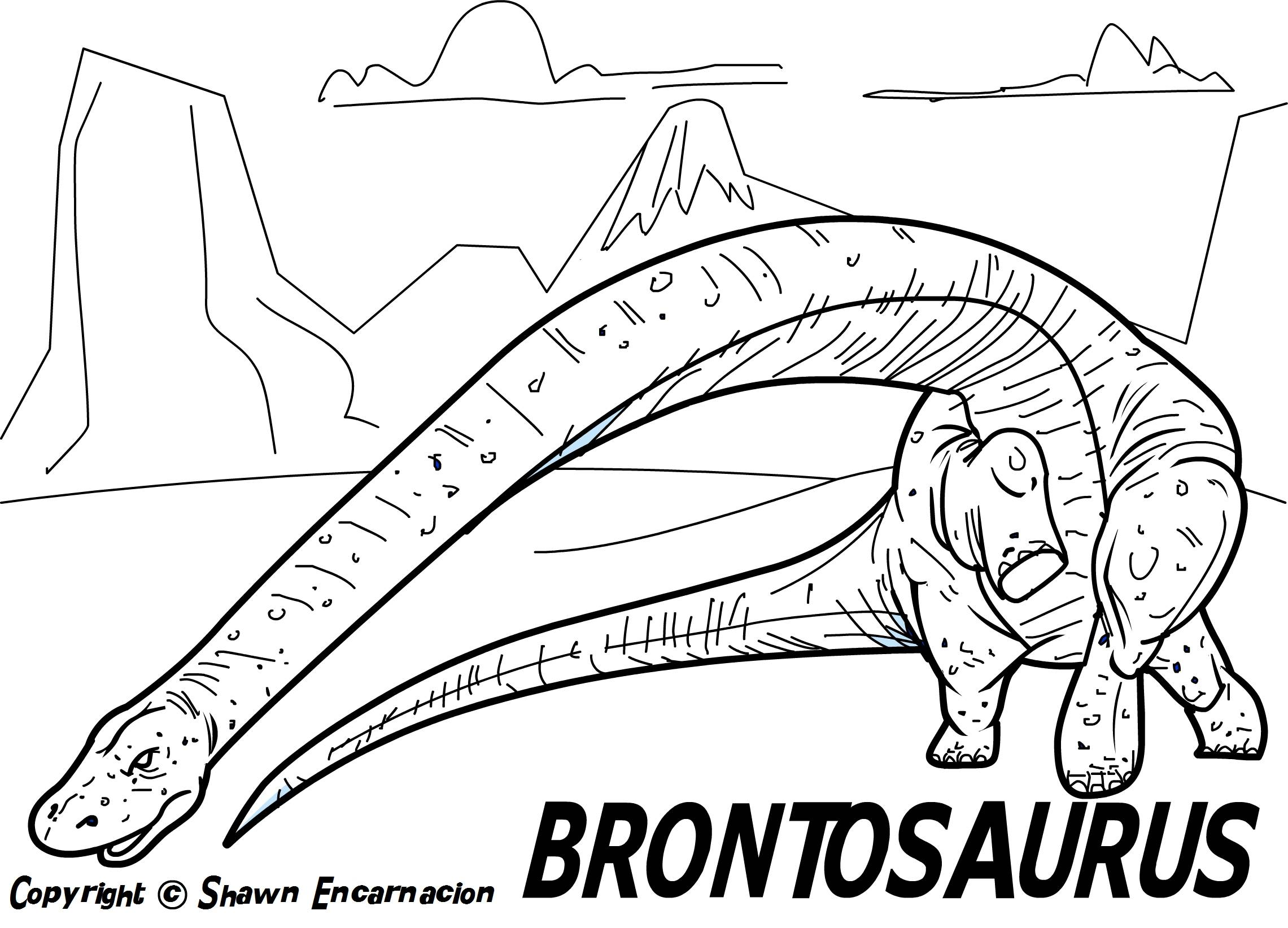 dinosaur coloring page to printprintablecoloring pages