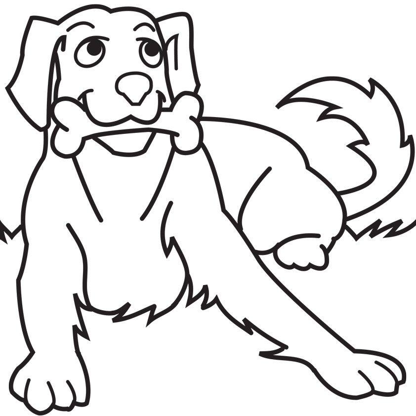 kids coloring pages dog,printable,coloring pages