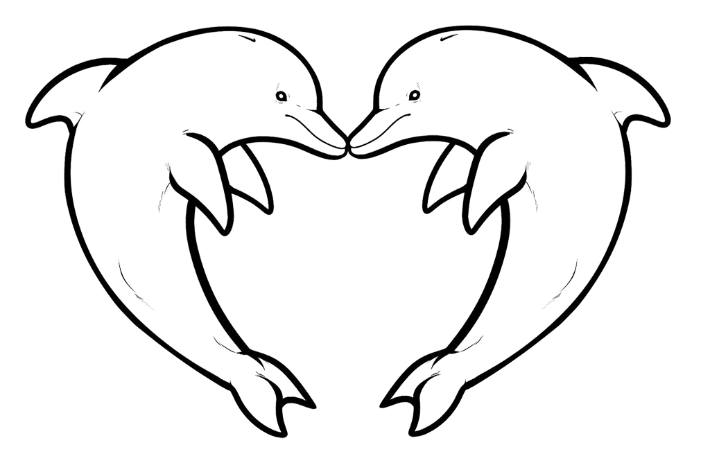 dolphin coloring page,printable,coloring pages