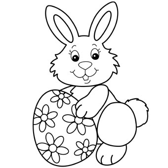 printable easter-bunny coloring pages,printable,coloring pages