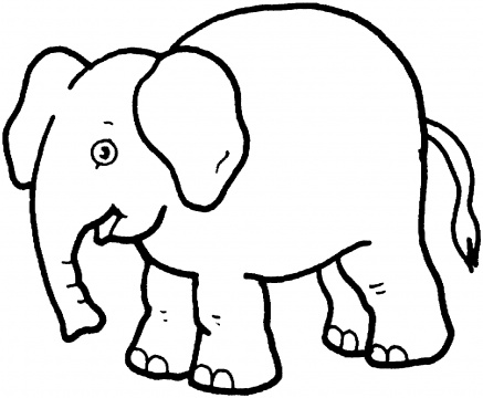 elephant coloring page,printable,coloring pages