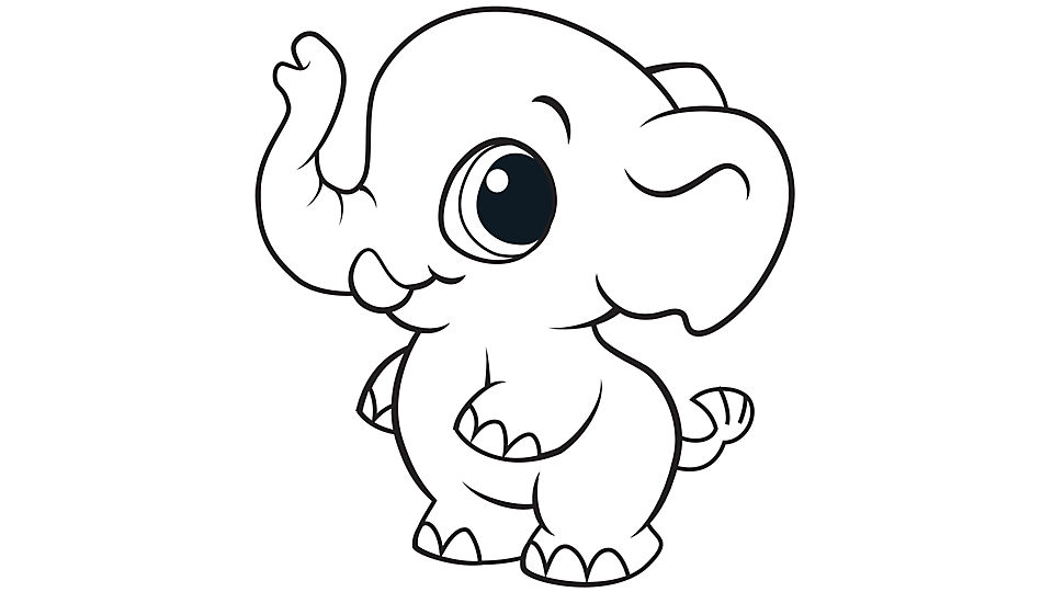 kids coloring pages elephant,printable,coloring pages