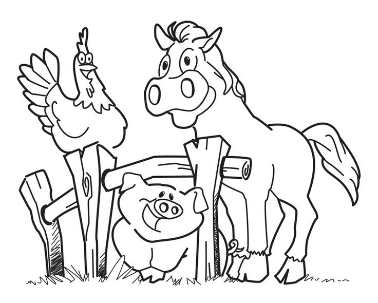 farm coloring pages for kids,printable,coloring pages