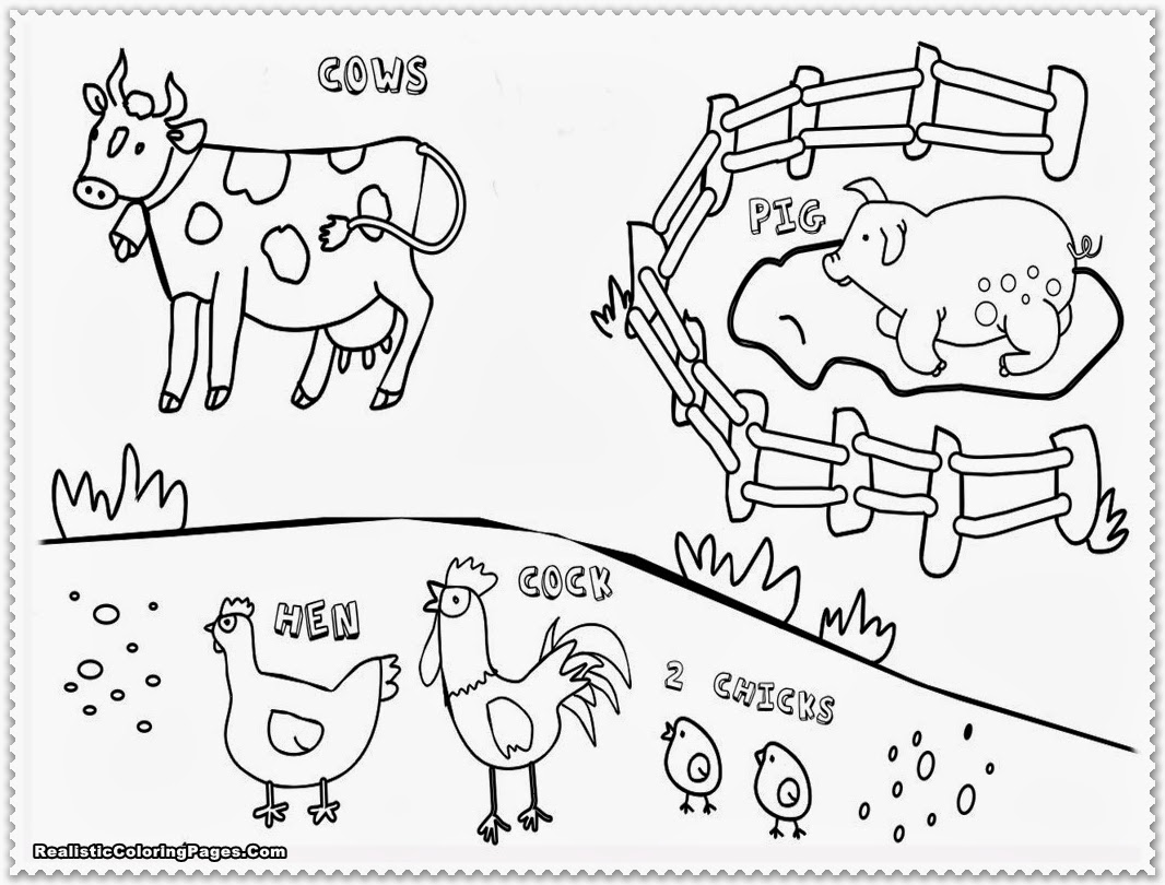 kids coloring pages farmprintablecoloring pages - Coloring Activities For Children