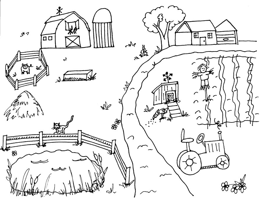 printable farm coloring pages,printable,coloring pages