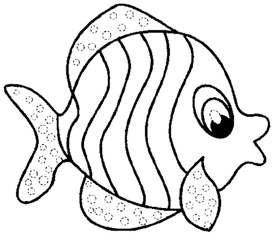 fish coloring page,printable,coloring pages