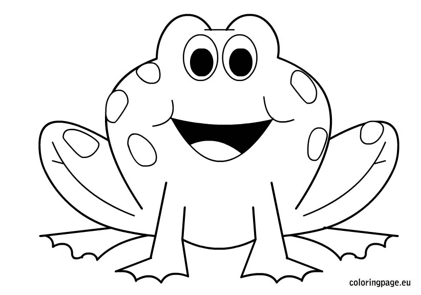 coloring pictures frog,printable,coloring pages