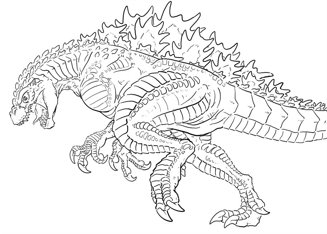 godzilla coloring pages,printable,coloring pages