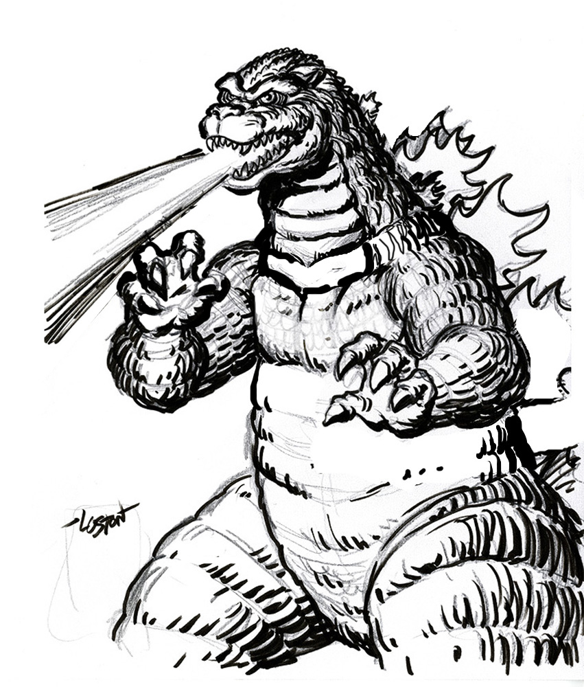 godzilla coloring pages for kids,printable,coloring pages