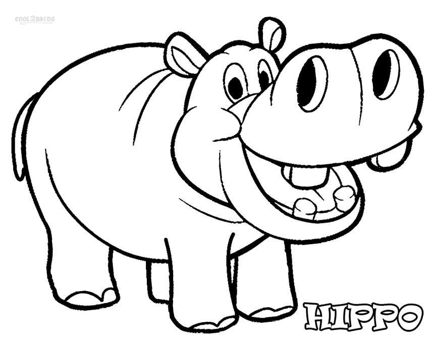 hippo coloring pages printable,printable,coloring pages