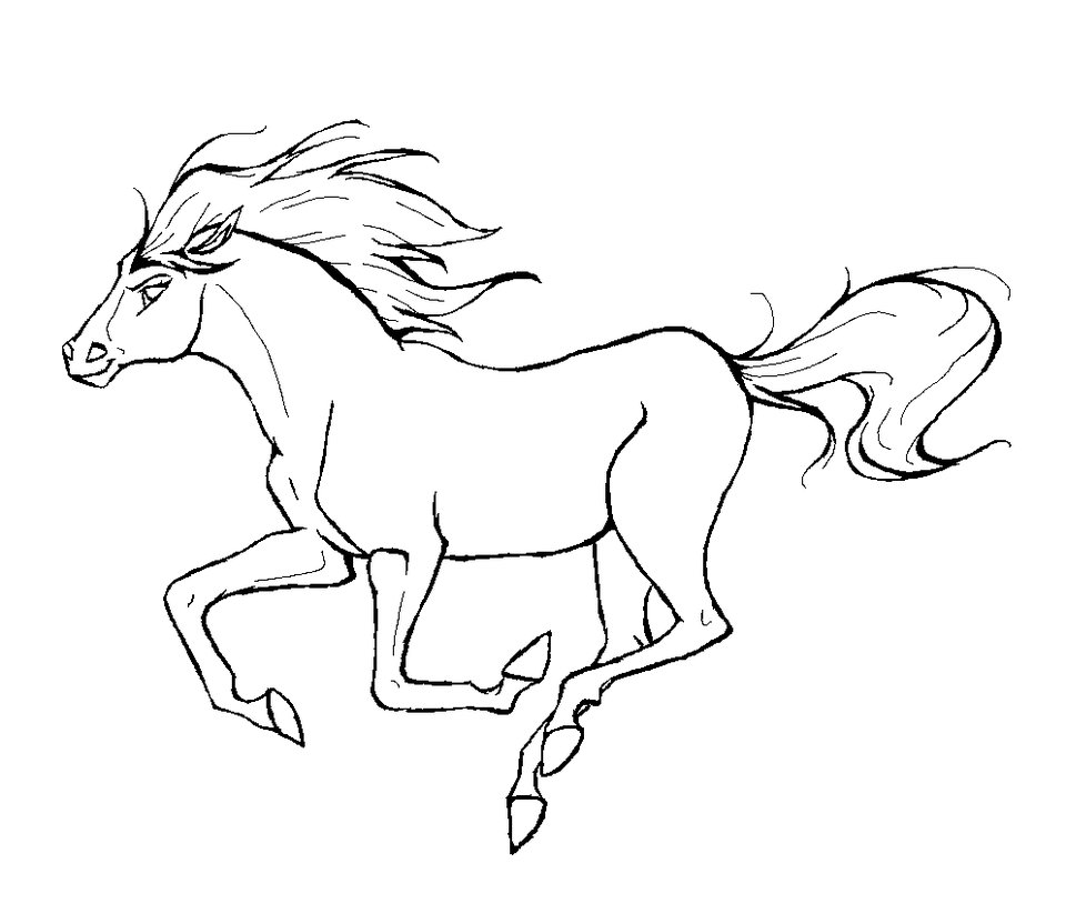 horse coloring pages for kids,printable,coloring pages
