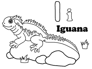 iguana coloring pages 15,printable,coloring pages