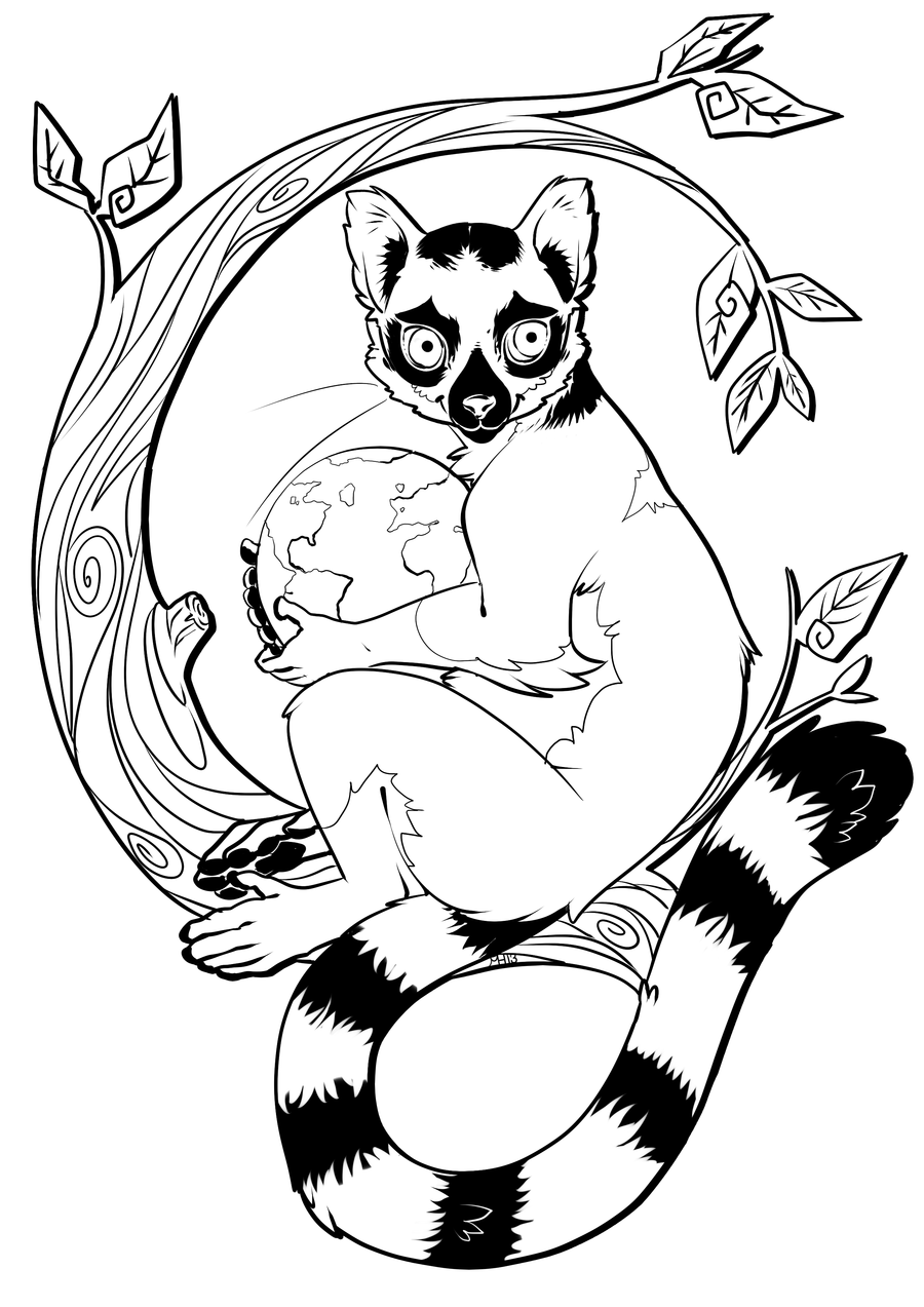 lemur coloring pages 11,printable,coloring pages