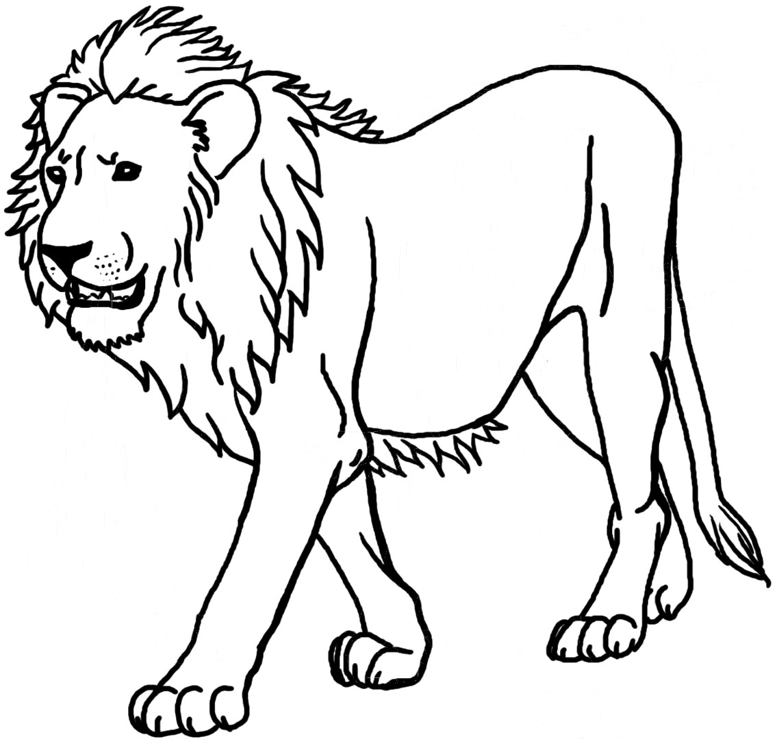 lion coloring page - 12 printable lion coloring pages print color craft