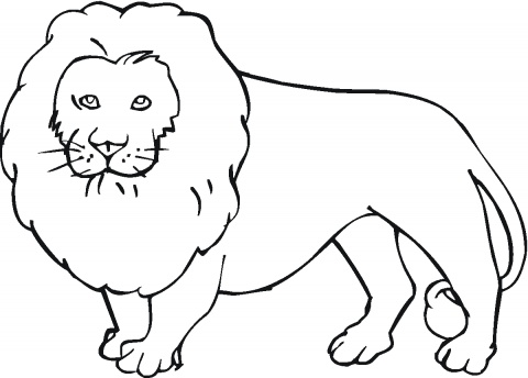 lion coloring page to print,printable,coloring pages