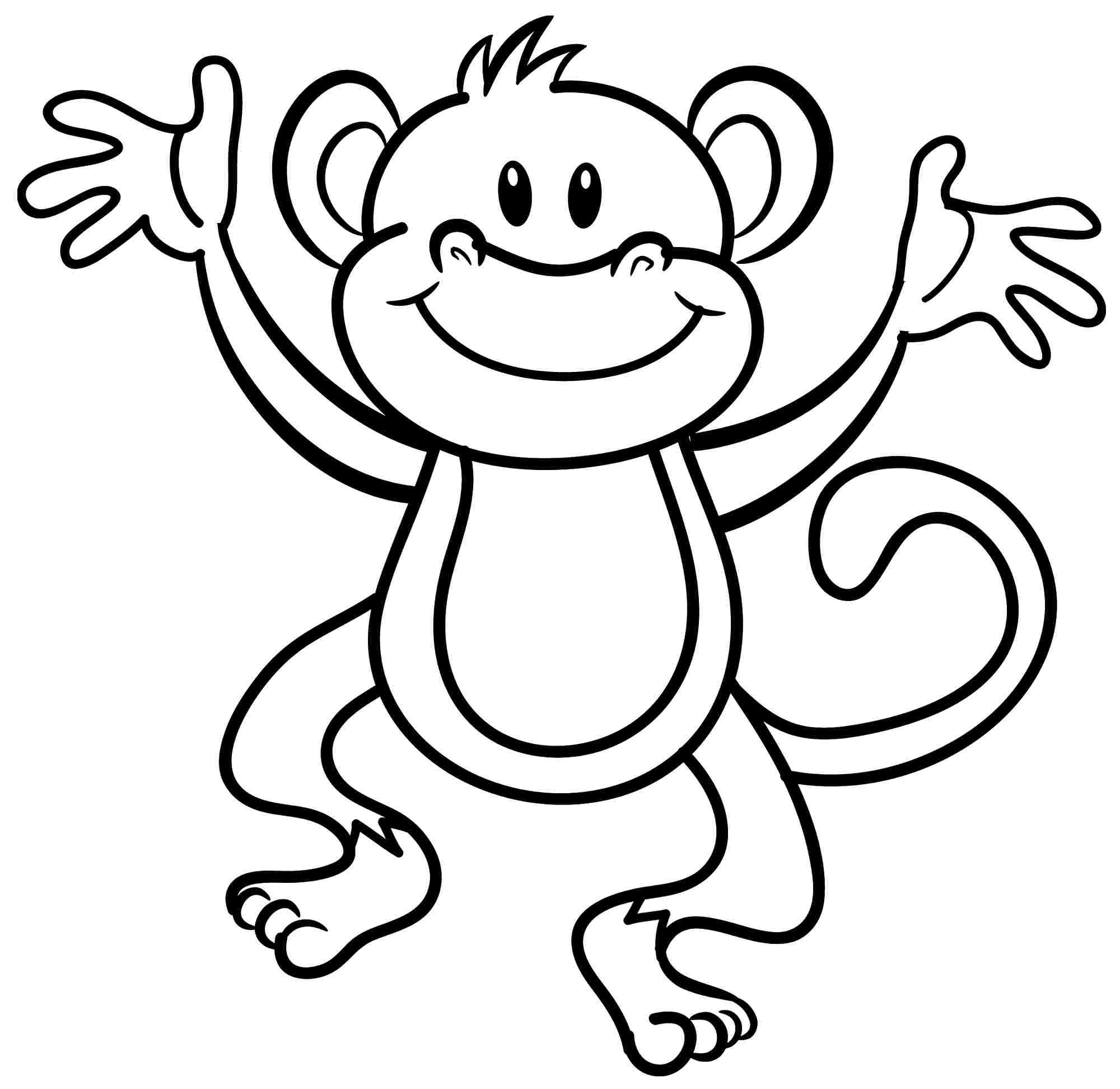 monkey coloring pages,printable,coloring pages