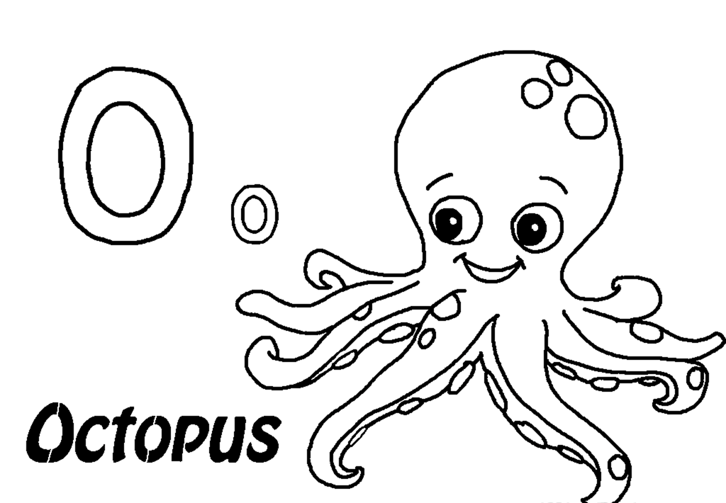 coloring pages of octopus,printable,coloring pages
