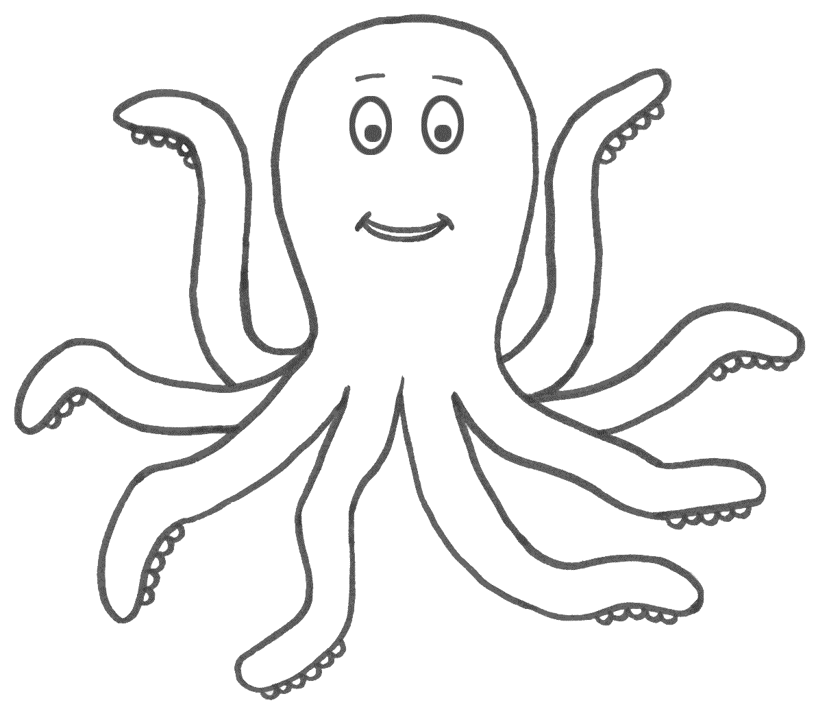 14 octopus coloring page print color craft