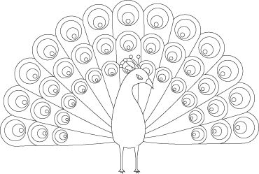 peacock coloring pages 13,printable,coloring pages