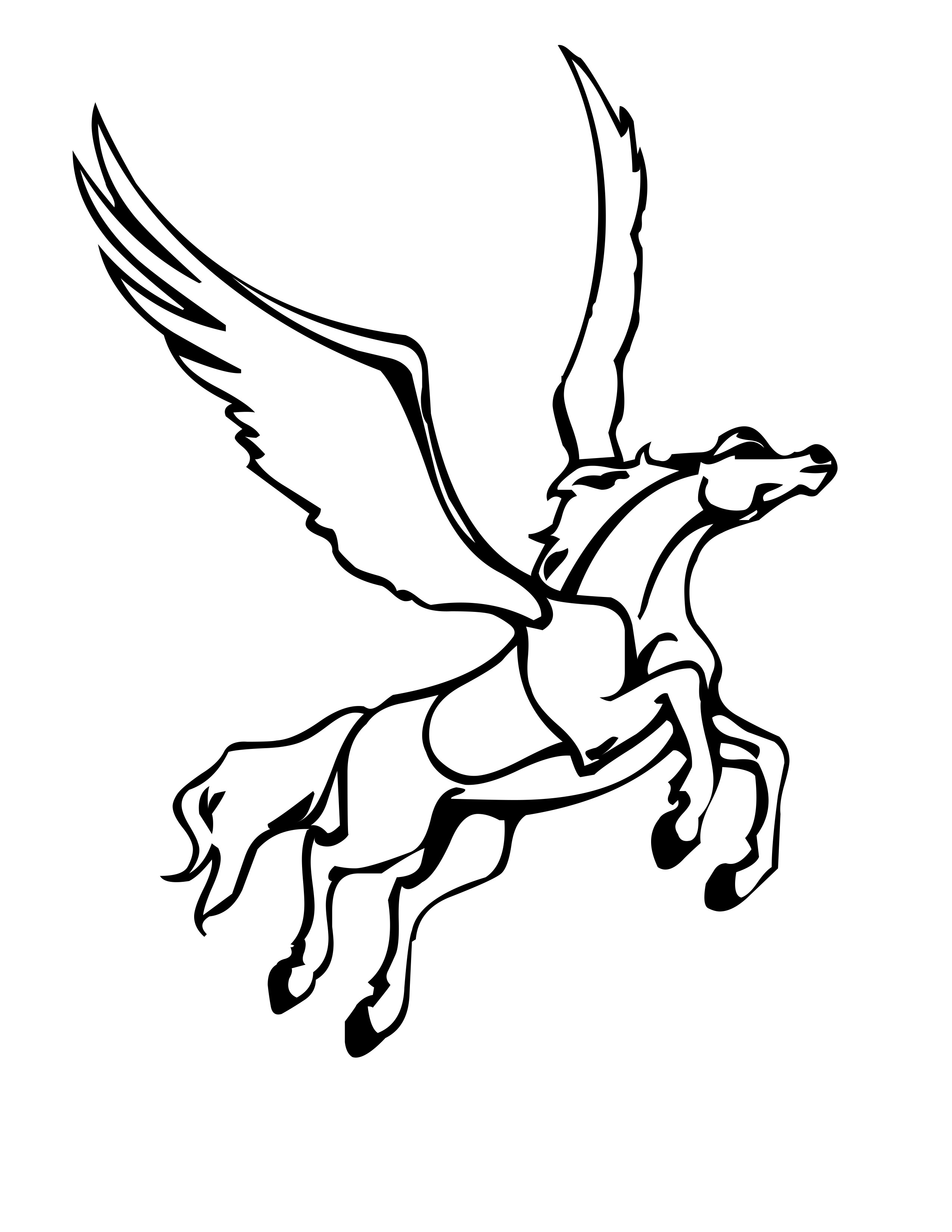 kids coloring pages pegasus,printable,coloring pages