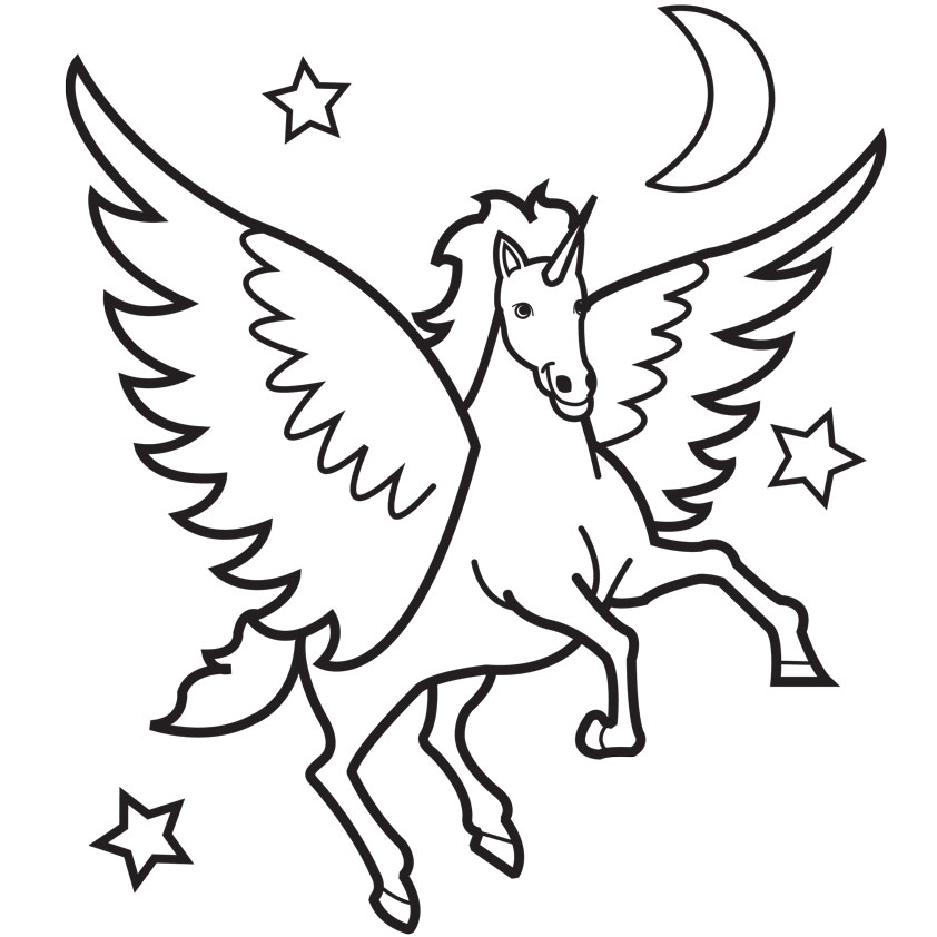 pegasus coloring pages 14,printable,coloring pages