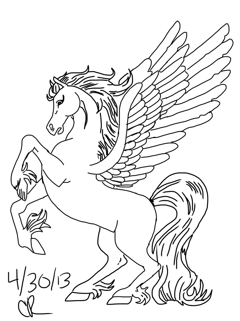 printable pictures of pegasus page,printable,coloring pages