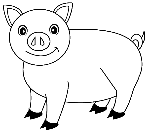 coloring pictures pig,printable,coloring pages