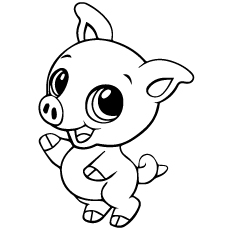 pig coloring pages 12,printable,coloring pages