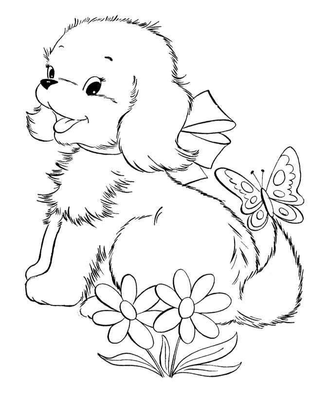 puppies coloring pages 14,printable,coloring pages