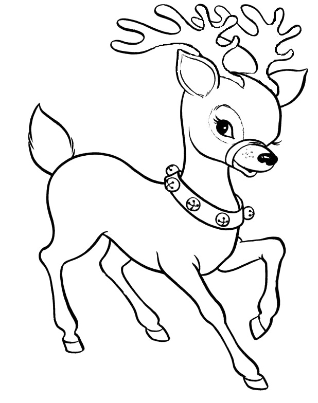 reindeer coloring pages free | Spotted racer Deer coloring pages 33 Pictures and cliparts ...