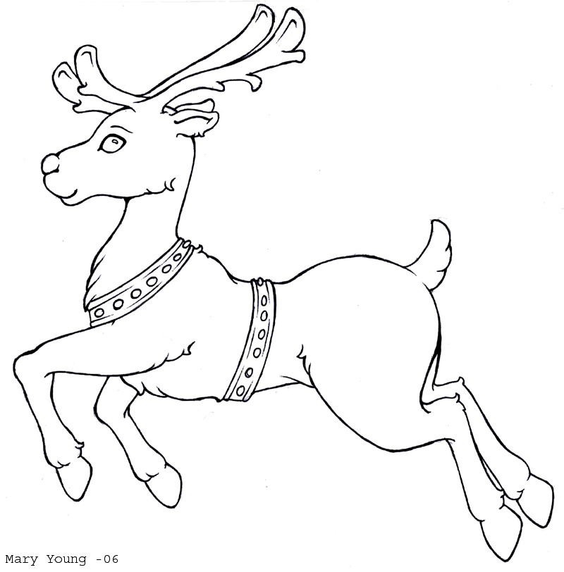 reindeer coloring pages printable,printable,coloring pages