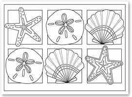 seashell coloring pages 14,printable,coloring pages