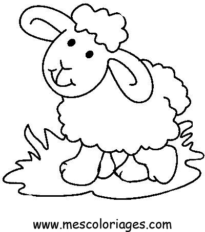 Sheep Pictures To Print Coloring Coloring Pages