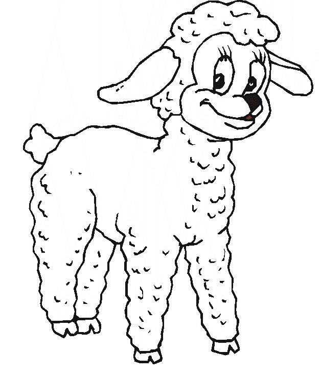 sheep coloring pages 11,printable,coloring pages