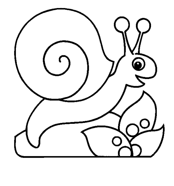 Cute Snail Coloring Pages 5 Garden Page - Snail Coloring ...