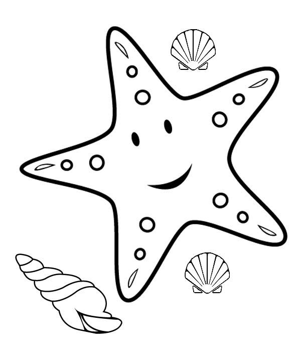 coloring pages of starfish,printable,coloring pages