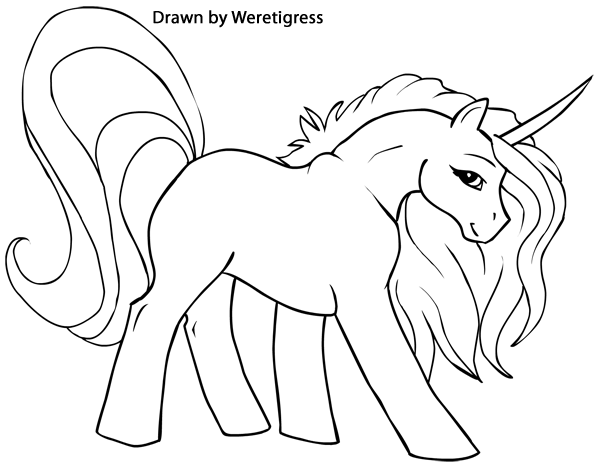 Coloring Pictures Unicornprintablecoloring Pages