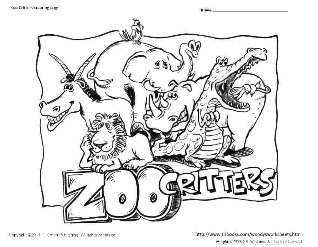 Zoo colouring pages to print - Zoo Coloring Pages 13 Printable Coloring Pages