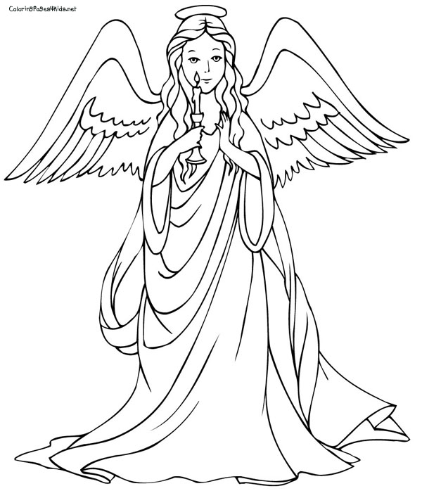 coloring pages of angel,printable,coloring pages