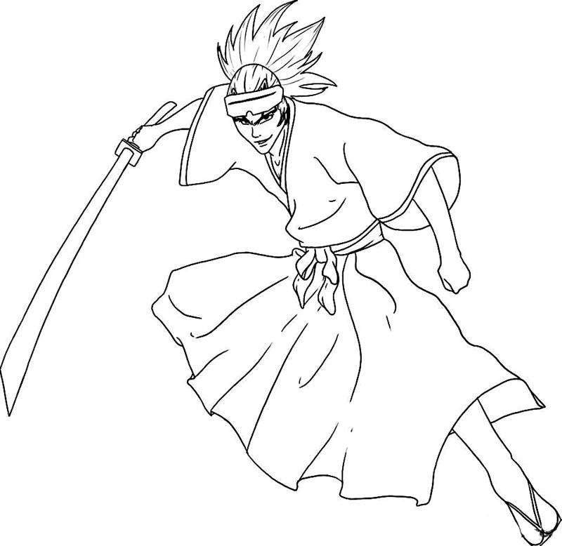 bleach coloring pages 12,printable,coloring pages
