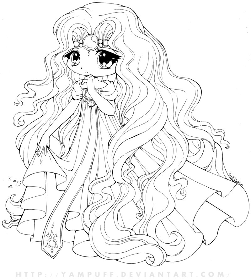 coloring pages of cute-chibi,printable,coloring pages