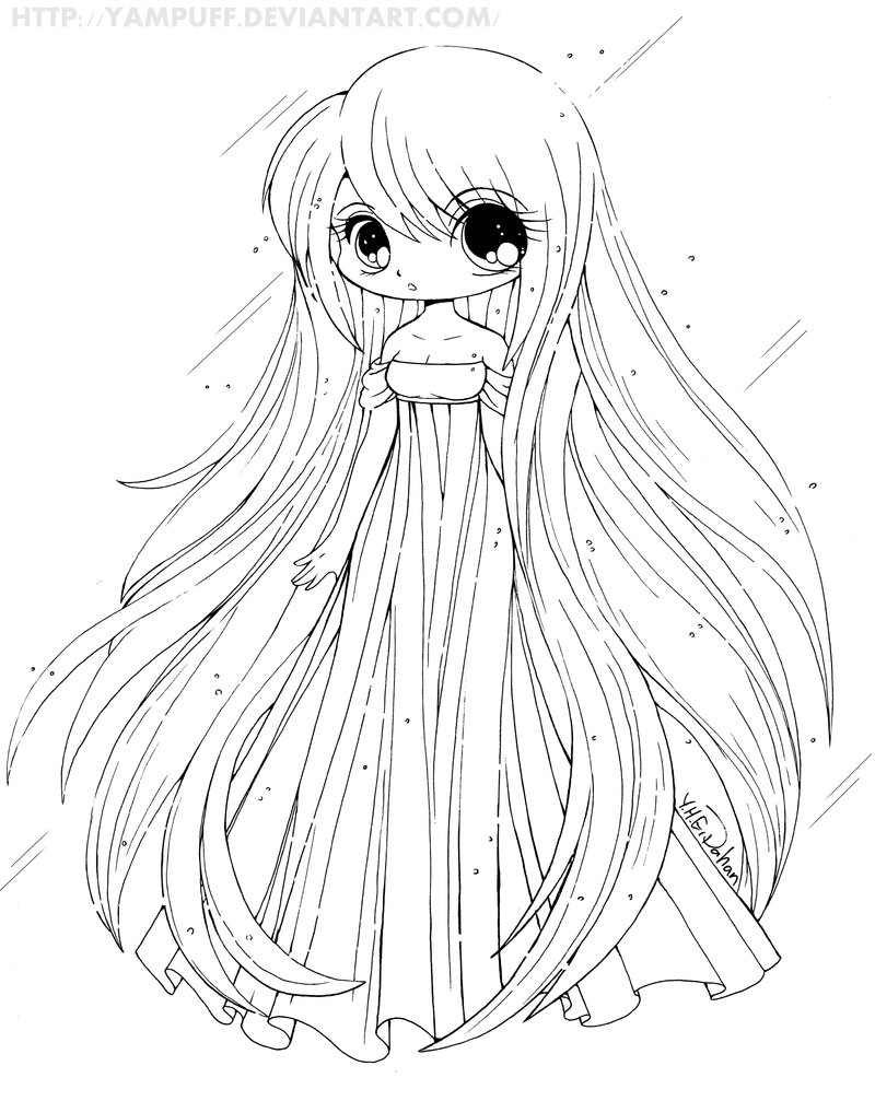 - 15 Cute Chibi Coloring Pages Printable - Print Color Craft