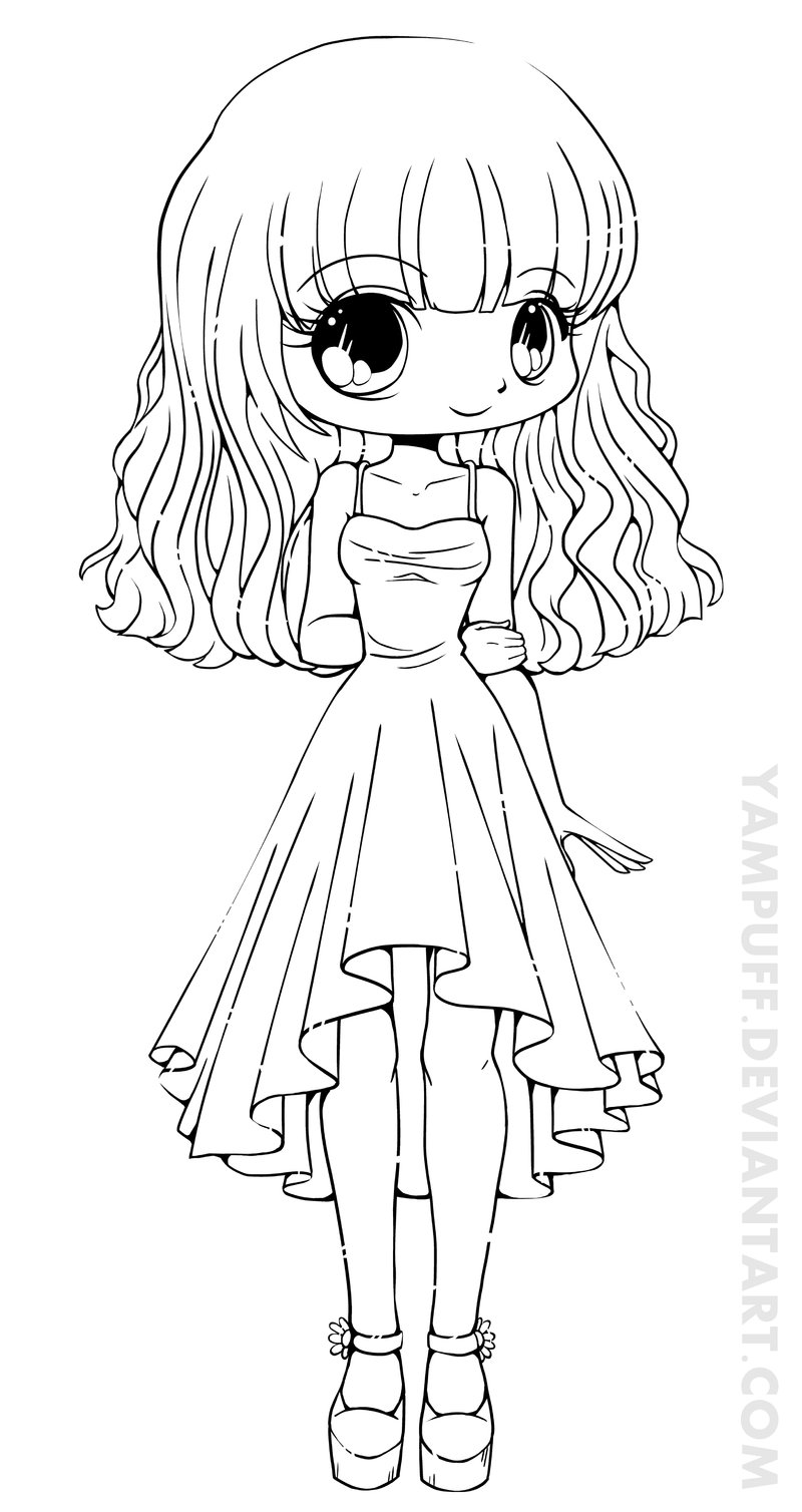 printable cute-chibi coloring pages,printable,coloring pages