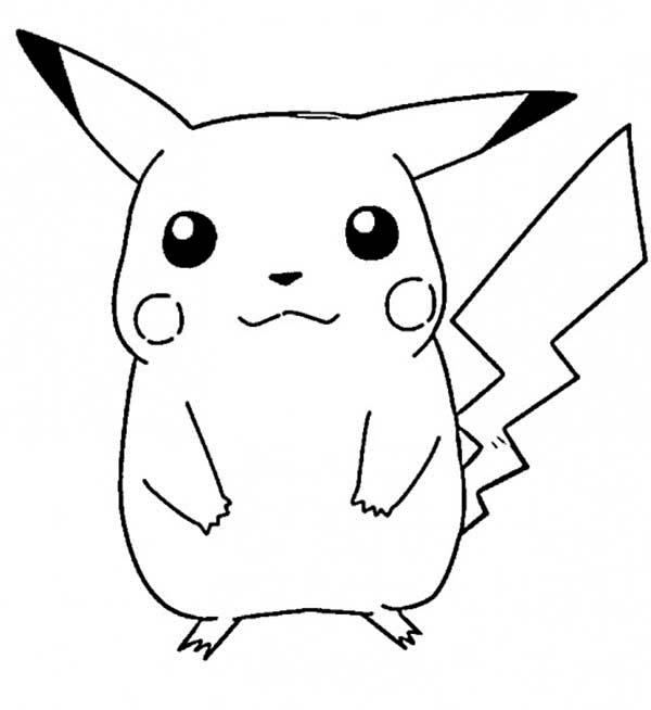 Kids Coloring Pages Pikachuprintablecoloring